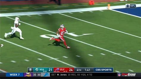 Micah Hyde Returns Onside Kick For Touchdown   Dolphins vs