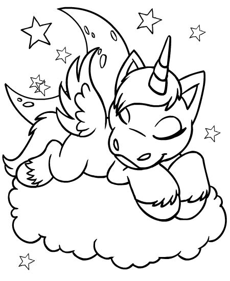 Neopets - Faerieland Colouring Pages