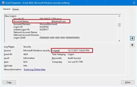 How to check if someone logged into your Windows 10 PC