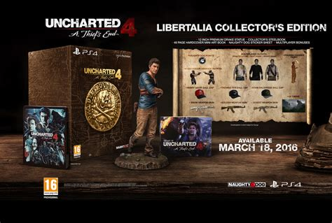 Uncharted 4 is coming to PS4 on March 18 with two fancy
