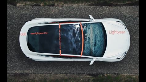 Lightyear Installs Solar Panels on the Roof of a Tesla