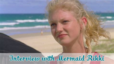 Interview with Mermaid Rikki // H2O JUST ADD WATER