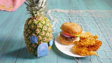 How to Make a Spongebob-Inspired Krabby Patty - What's in
