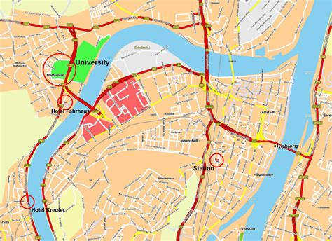 Large Koblenz Maps for Free Download and Print | High