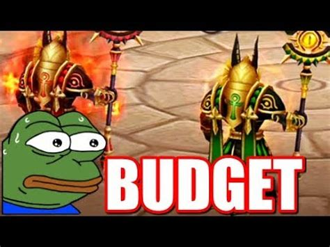 Budget Guild War with Double Anubis, Copper Bulldozer in