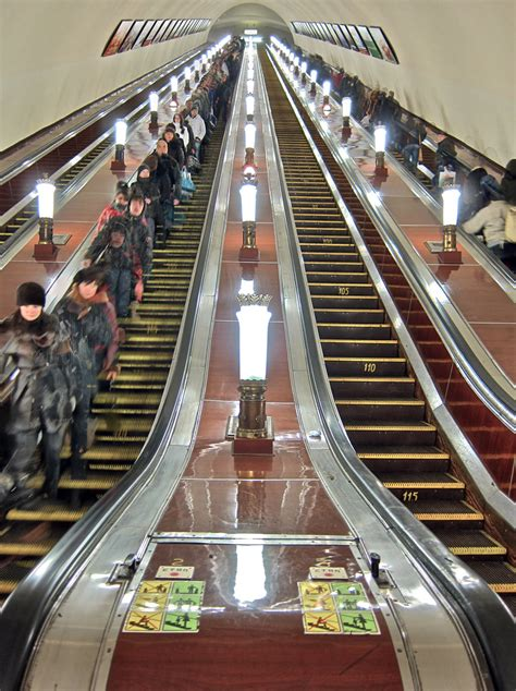 Moscow Metro - On The Way Out: Komsomolskaya | Today is my
