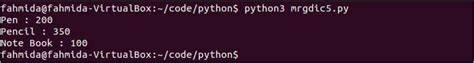 How to merge dictionaries in Python – Linux Hint