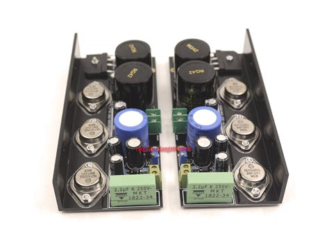 One Pair HD1969 Power Pure Class A Amplifier Kit Amp DIY