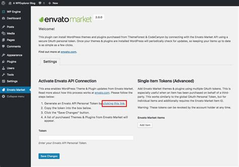 How To Update WordPress Themes with the Envato Market