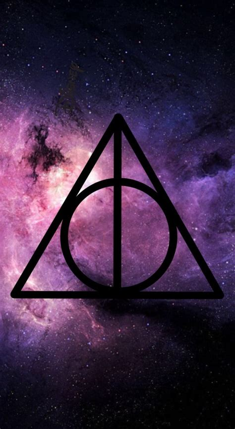 Harry Potter And The Deathly Hallows Symbol Wallpaper High