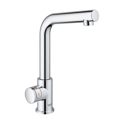 GROHE Red Mono kraan met L-Size boiler   GROHE
