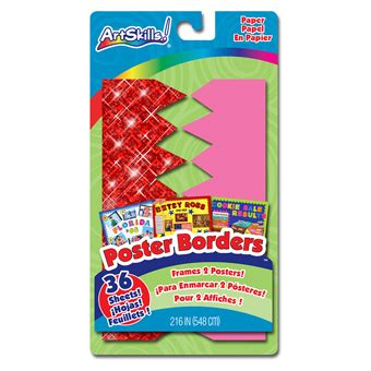 Decorate a Poster | Poster Borders | Poster Board Bordering