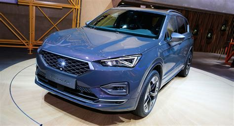 SEAT Tarraco PHEV Shows Up In Frankfurt In FR Trim With