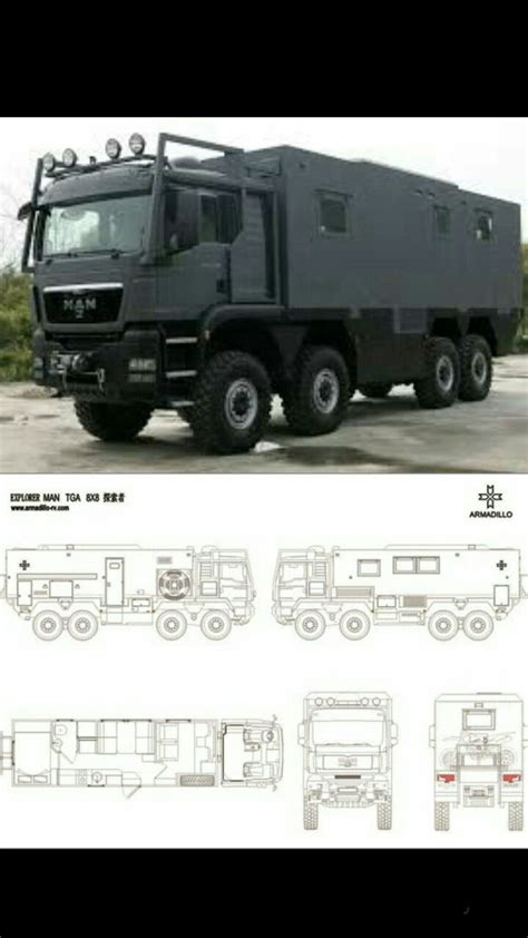 Amadillo 8x8 man | Expedition vehicle, Expedition truck