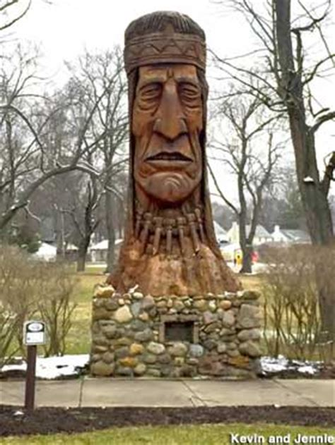 Akron, OH - Peter Toth Indian Head (Gone)