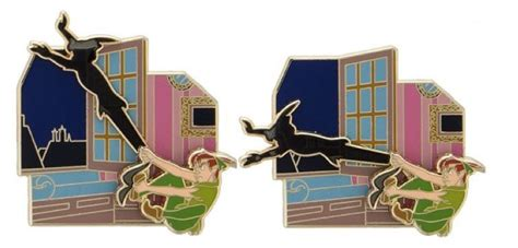 Peter Pan Pin Collection Out Today     DisKingdom