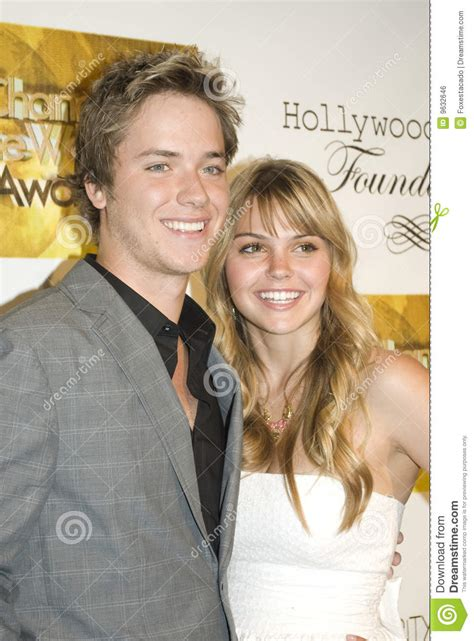 Aimee Teegarden And Jeremy Sumpter Editorial Photo - Image
