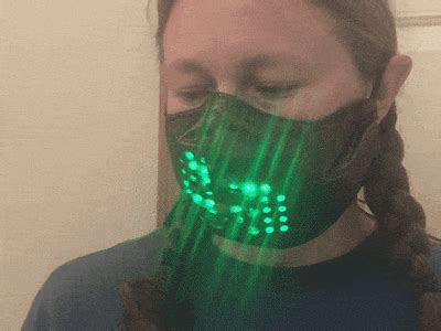 Light Up Face Mask with Bluetooth - Hackster