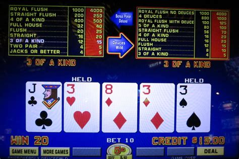 Dual Action Poker